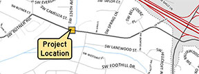 Butner culvert location