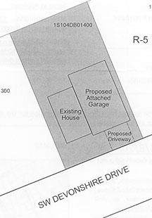 garage location