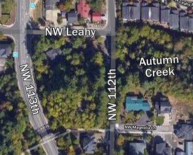 Autumn creek culvert map