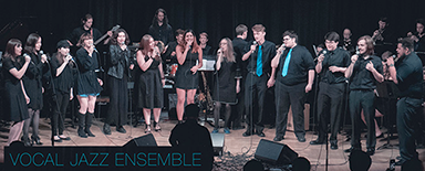PCC vocal jazz ensemble