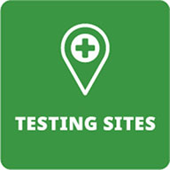 Testing sites green logo