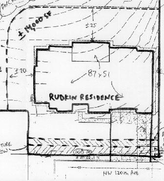 Rudkin residence map