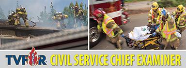 TVFR civil service chief examiner