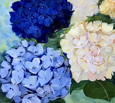 Hydrangeas by Jean Anderson