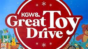 KGW Great Toy Drive logo