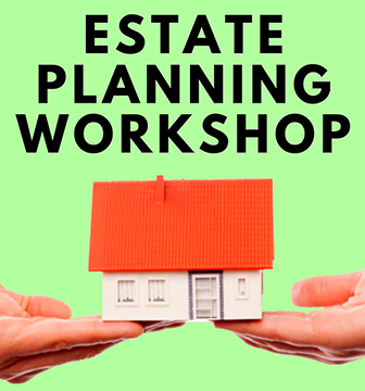 estate planning workshop logo