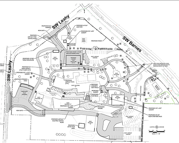 catlin gabel east campus plan