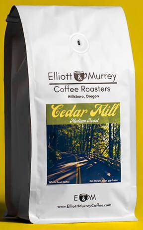 cedar mill coffee blend package