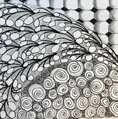 jean anderson organized doodling