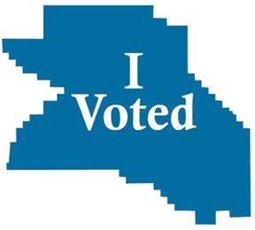 i voted in washington county logo
