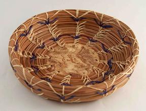 Kim Black Pine Needle Basketry June 2021