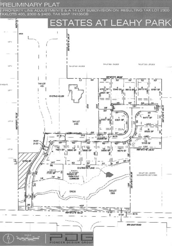 leahy park map