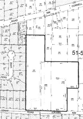 leahy park vicinity map