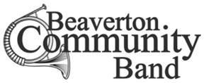 beaverton community band logo