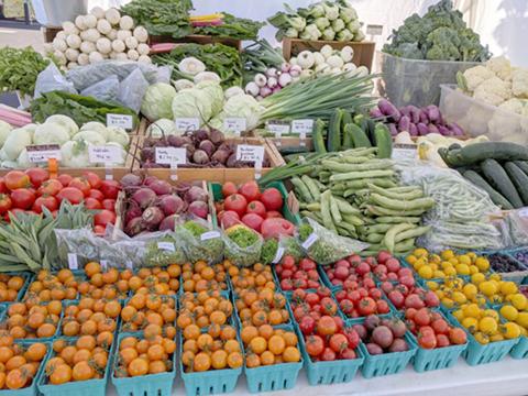 rainbow produce