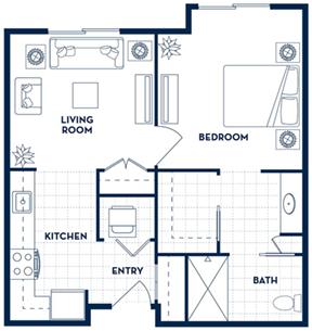 ackerly apartment floorplan