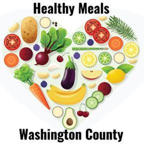 healthy meals produce heart logo